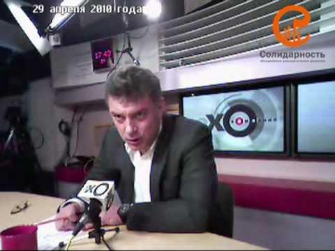 Борис Немцов уличил Путина в невежестве