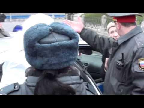 Что видели 25 октября 2011 Минин и Пожарский