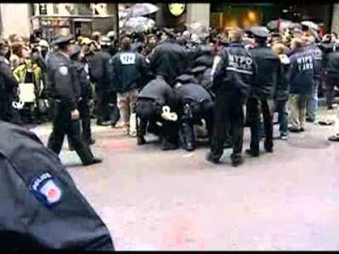 Occupy Wall Street 16-18 ноября 2011 года