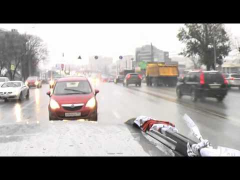 Автопробег: Я ставлю крест на воровской власти