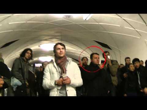 PUSSY RIOT захватывают общественный транспорт Москвы