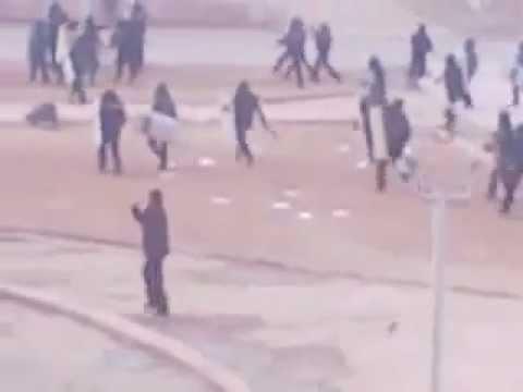 Расстрел бастующих в Жанаозене