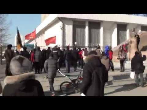 Владивосток Митинг 24 декабря 2011 года ПРОВОКАЦИЯ МВД