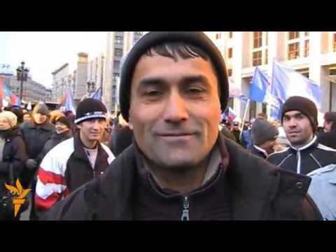 Митинг гастарбайтеров в поддержку Суркова и K.