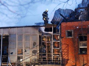 Взрыв в ресторане в Москве