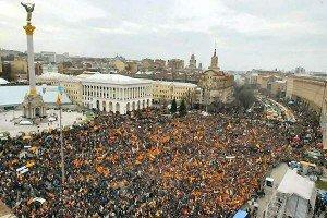 Украинская революция: за полшага до крови