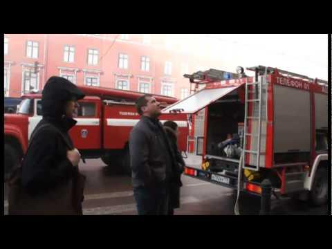 Петербург: пожар во дворце на Невском проспекте
