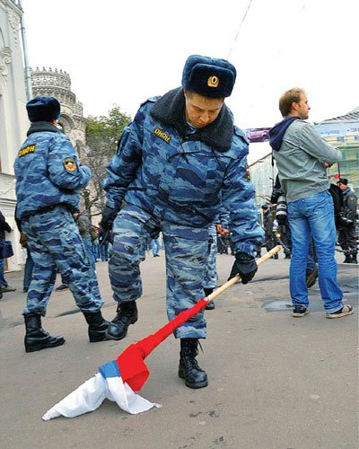 Калининград 4 февраля 2012 года: Репрессии против митинга