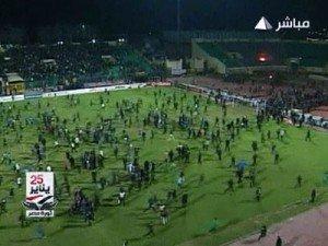 Побоище и давка на египетском стадионе