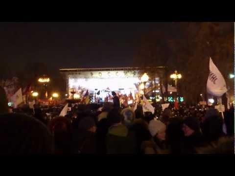 Жестокий разгон на Пушкинской площади / Хроника событий