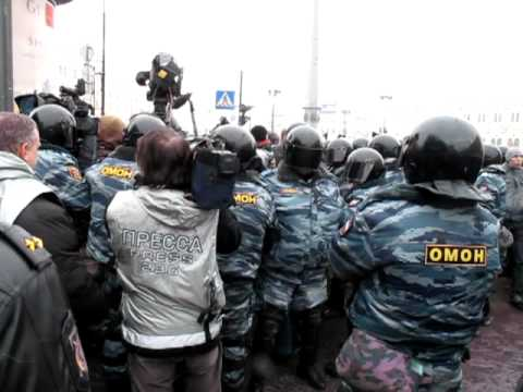 Митинг 10 марта 2012 года Петербург: Массовые задержания и аресты