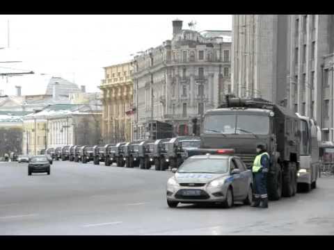 Спец Операция «Выборы» Путина: Москва на осадном положении
