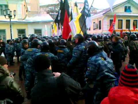 Нижний Новгород: Власть применяет пытки к задержанным на вчерашней акции протеста