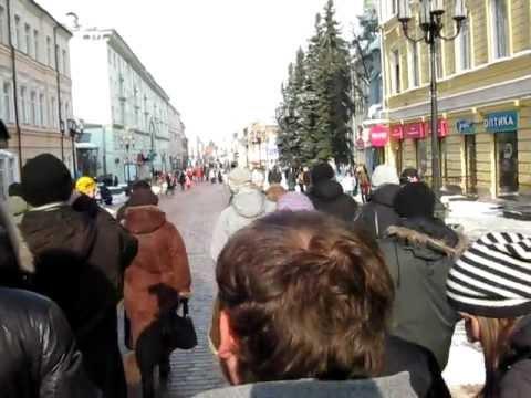 Нижний Новгород: Беспредел мусоров 10 марта 2012 года