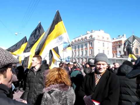 Митинг в Петербурге 25 марта 2012 года: Заминированная площадь и Ментовской беспредел