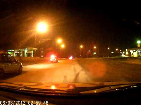Дебилы на дорогах: Инспектор ДПС обиделся