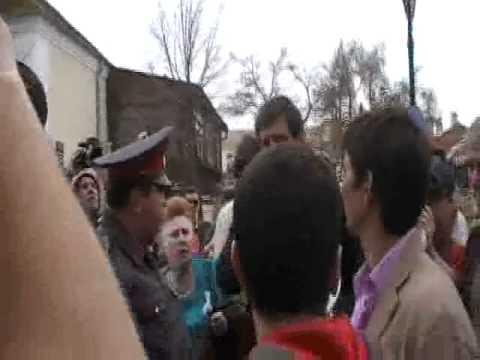Астрахань: Лживая и трусливая власть за спинами ментов