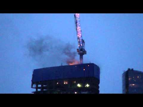 ФСО не давала тушить башню Москва-Сити