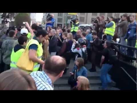 Зачистка Москвы для Коронации Путина 7 мая 2012 года