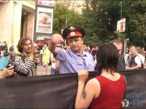Россия без Путина: Разгон пикета 24 июня 2012 года