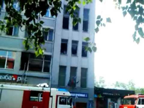 Новосибирск: Акт самосожжения в приёмной Едросни