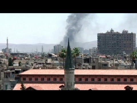 Теракт в Дамаске против спецслужб: Гражданская война в Сирии