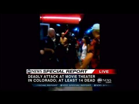 Премьера фильма о Бэтмене в Денвере, Колорадо: Праздник превратился в бойню