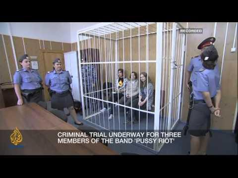 Суд над Pussy Riot 31 июля 2012 года: Месть чекиста — День второй