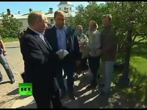 Валаам: Путин отдернул руку поцелованную священником