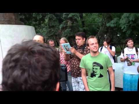 Оккупай Абай на Чистых Прудах 10 августа 2012 года / Трансляция