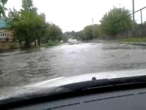 Потоп в Казани 21 августа 2012 года