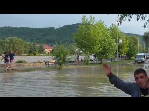 Наводнение в Новомихайловском / Смерч в Туапсе