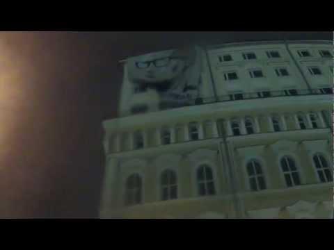 Подарки Путину / Акция в Москве Прямой эфир / Трансляция 07 октября 2012 года