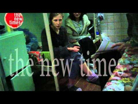 Видео из СИЗО 6: Пусси Риот за решеткой