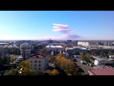 Оренбург: Вагоны с боеприпасами взрываются сами по себе