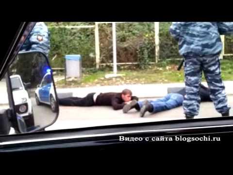 Перестрелка водителей в центре Сочи