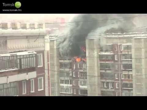 Томск: Сильный взрыв в жилом доме
