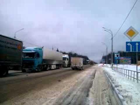 Трасса М10: Пробка в 100 километров