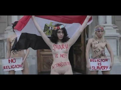 Брюссель: FEMEN против Путина