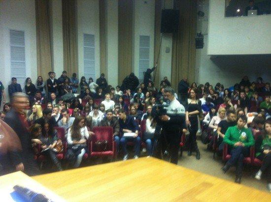 Забастовка студентов РГТЭУ 18 декабря 2012 года Прямой эфир / Трансляция