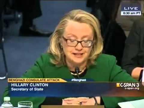 Хиллари Клинтон в Конгрессе: В истерике, с плачем и криком