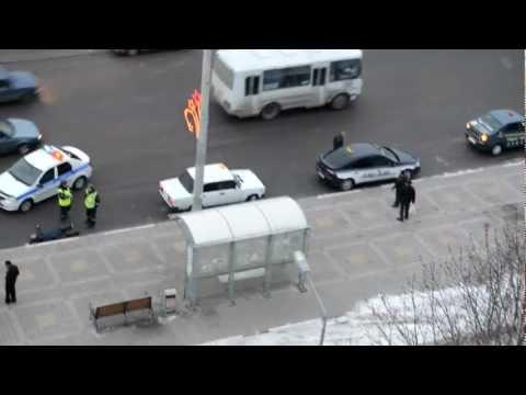 Белгород: Драка таксистов и флегматичные полицаи
