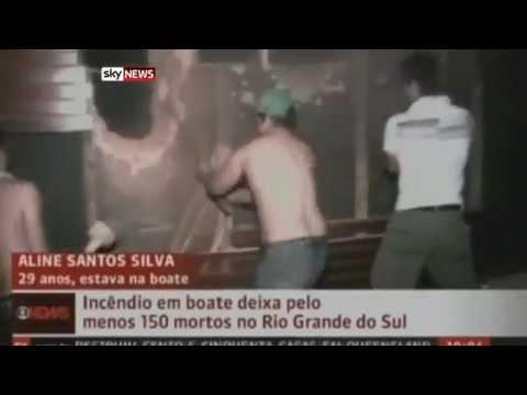 Бразилия: Пожар в ночном клубе унес жизни 245 человек