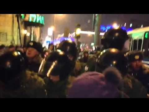 Стратегия 31 Москва / Марш Несогласных 31 января 2013 года Трансляция