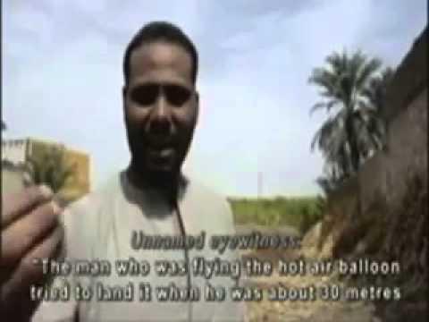 Египет: Над Луксором взорвался воздушный шар
