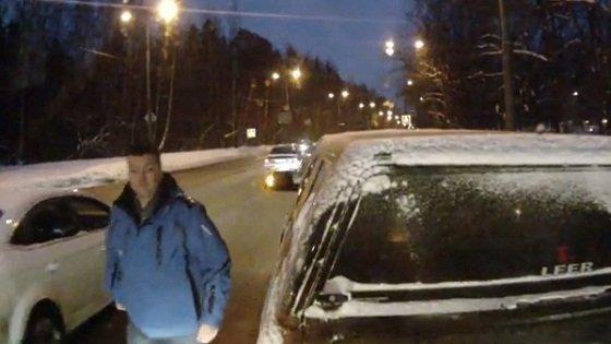 Русский каратель на автобусе: Борьба с автоподставами
