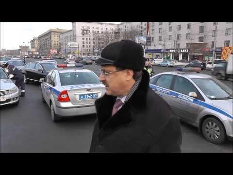 Блатной депутат единоросс сбежал от ДПС