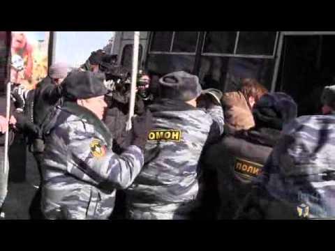 Винтилово на пикетах 8 марта