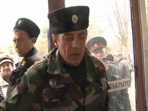 Крымск: Казаки захватили Радио Электрон FM