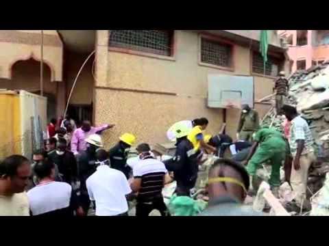 Танзания: 15 человек погибли под завалами рухнувшей высотки